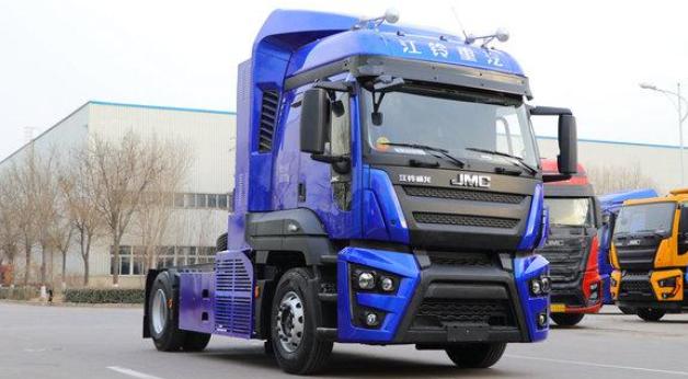 江铃威龙氢燃料电池重卡车亮相 加氢10分钟|续航400-500km