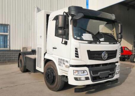 东风氢燃料电池重卡车曝光 搭载武汉深蓝动力氢燃料电池发动机