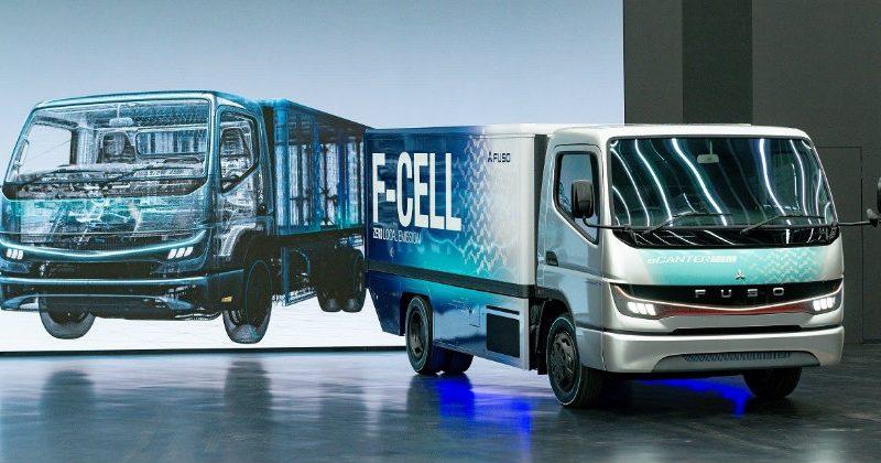 三菱扶桑氢燃料电池卡车年底量产  续航300KM 加氢10分钟