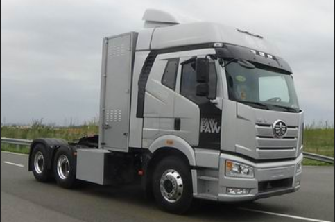 一汽解放氢燃料电池重卡车亮相工信部第333批机动车产品公告