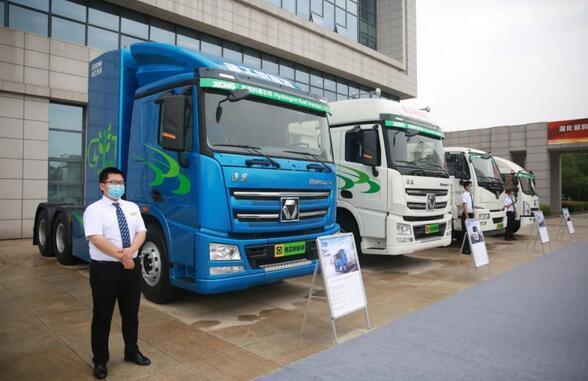 徐工氢燃料电池重卡车 续航400KM