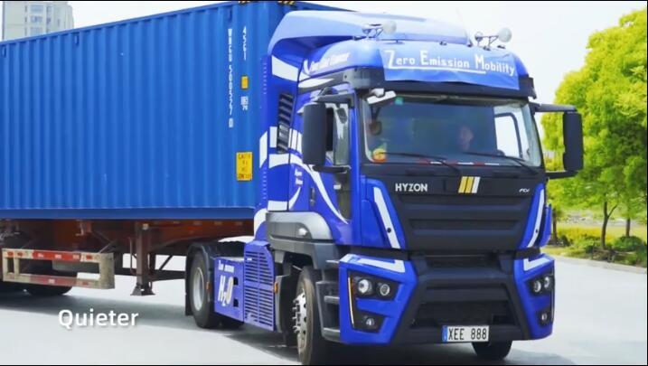 HYZON氢燃料电池卡车下半年投产  2021年初氢燃料商用车交付