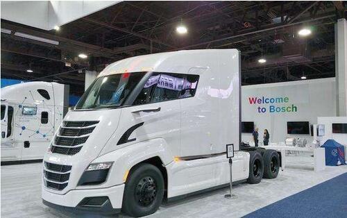 尼古拉氢燃料卡车年产5000-10000辆  产品将覆盖美洲欧洲澳洲