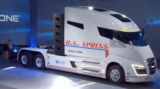 尼古拉氢燃料电池卡车2023年上市  年产5000-10000辆