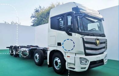 福田液氢燃料电池重卡车全球首发!搭载109KW燃料电池发动机