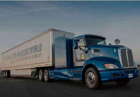 丰田氢燃料电池重卡车美国上市 670马力|续航320KM|载重36吨