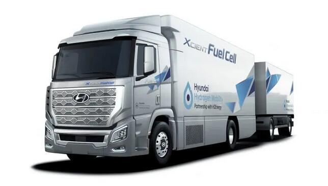 2020进博会:现代氢燃料电池重卡车XCIENT Fuel Cell将亮相