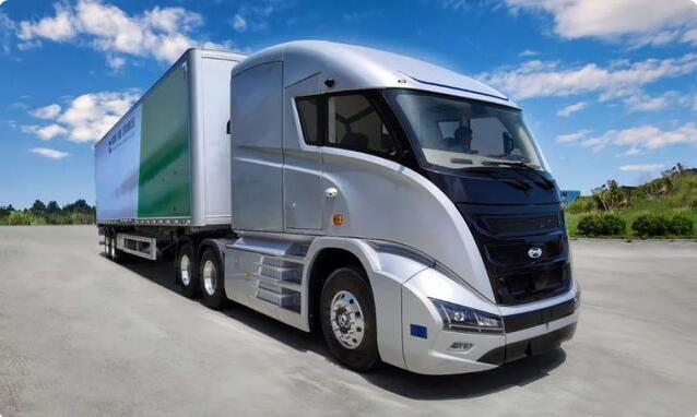 威方德自动驾驶氢燃料电池重卡车下线  续航里程超1000公里