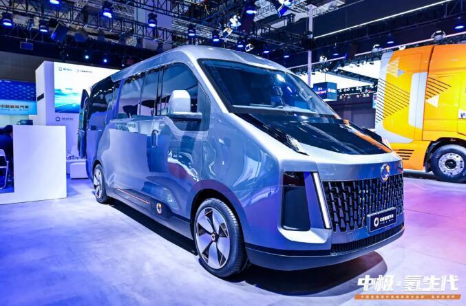 格罗夫氢燃料电池物流车发布 续航1000km | 载货13m³ | 4.5T
