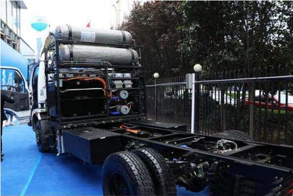 法液空在欧洲建氢燃料重卡加氢站  2022年初投入使用