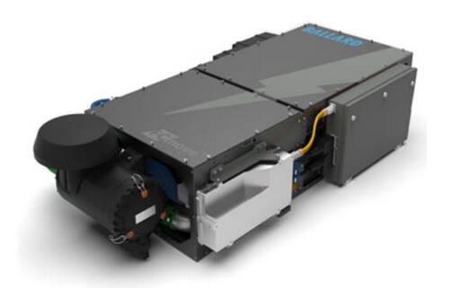 加拿大开发北美首台氢燃料电池火车 巴拉德将提供氢燃料电池组