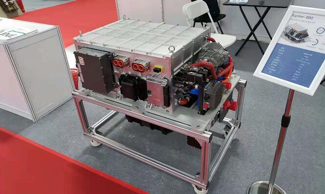 英博新能源旗下80kW氢燃料电池发动机亮相  -30度低温冷启动