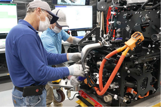 丰田将在美国投产重卡氢燃料电池系统 功率160kW